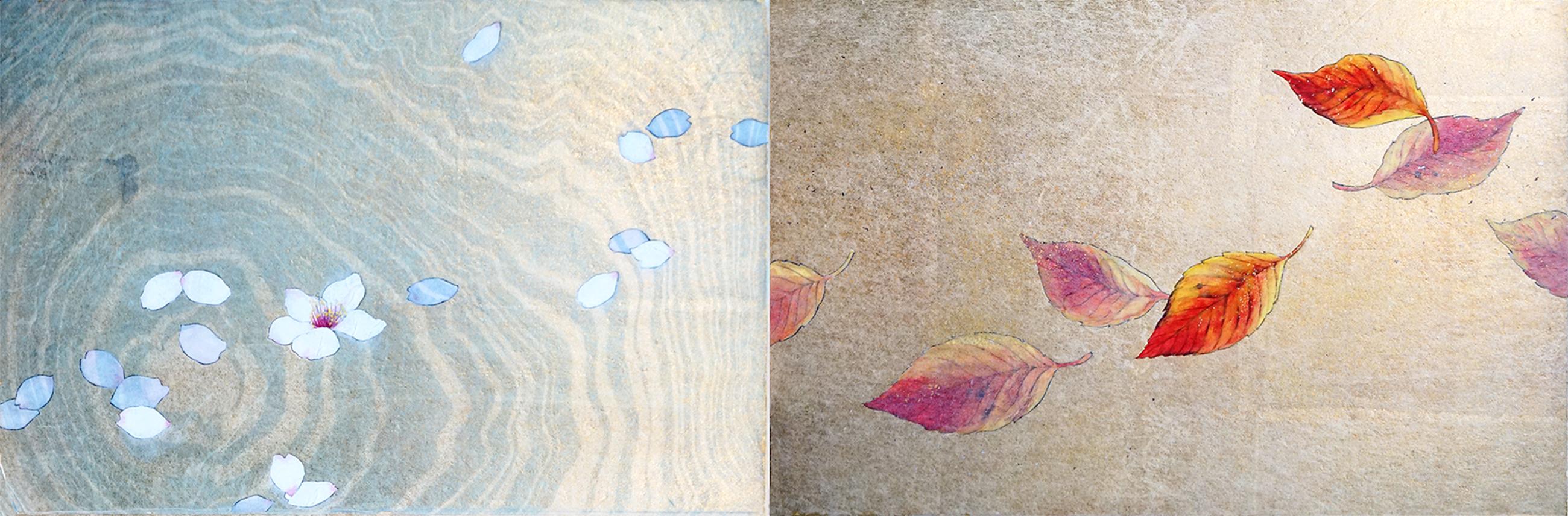 学べる 日本画・水墨画の技法 絵画教室アトリエ・オモ3(東京 表参道 ...